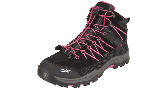 CMP Campagnolo Rigel Mid WP Shoes Junior antracite-hot pink